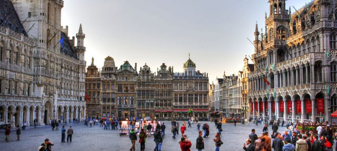 Brussels, the center of Europe